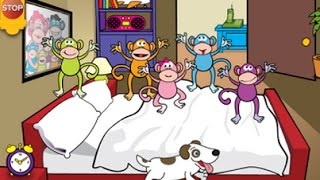 Five Little Monkeys Jumping on the Bed - top app demos for kids - Philip
