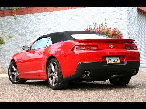 2014 Camaro SS – Billy Boat Exhaust Install & Drive Off