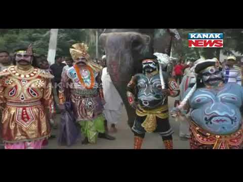 Dhanu Yatra Started At Bangomunda, Balangir, Huge Crowd Of People