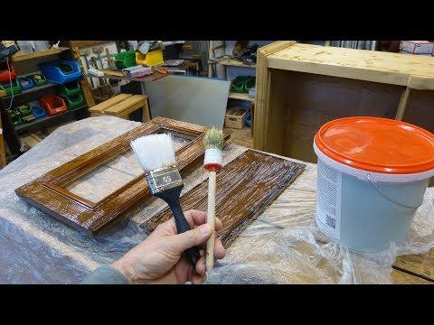Abbeizen Wie? Abbeizer Test, Farbe von Holz entfernen, Abbeizer BA UNI