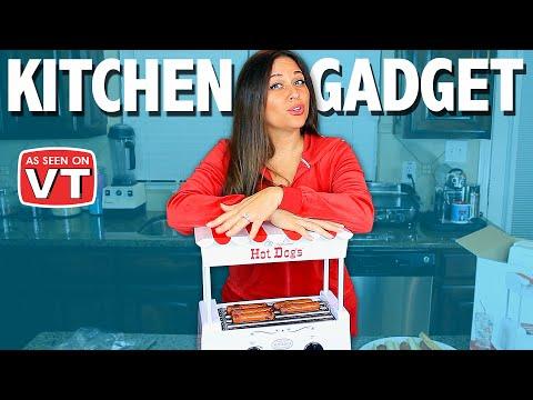 Hot Dog Kitchen Gadget Review | As Seen on Vivian Tries