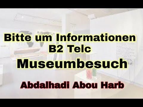 Bitte Um Informationen Party Service Brief Schreiben Telc B2