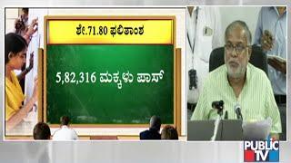 Karnataka SSLC Result 2020 Declared; Education Minister Suresh Kumar Press Conference | Public TV