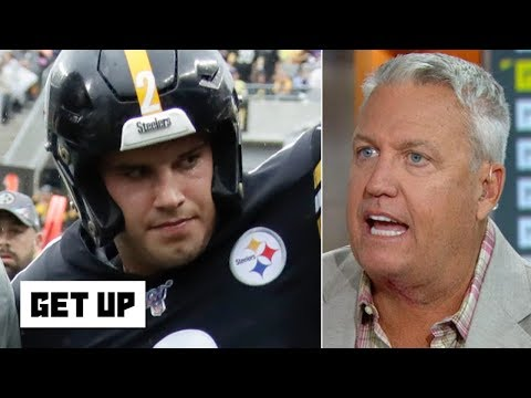 Mason Rudolph shouldn't have walked off the field after big hit - Rex Ryan | Get Up