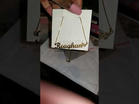 My Name Necklace review