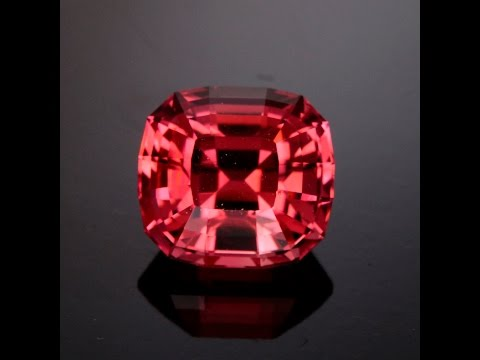 Fine pink tourmaline with natural untreated color.