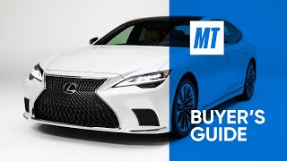 REVIEW: 2021 Lexus LS500 | MotorTrend Buyer's Guide by Motor Trend