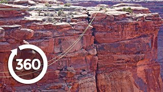 Canyon Swing: Jump Into the Unknown (360 Video)