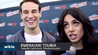 NYCC 2015 - Shadowhunters Emeraude Toubia & Alberto Rosende Interview