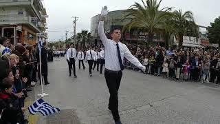Ραφήνα 25 Μαρτίου 2018: Η μαθητική παρέλαση