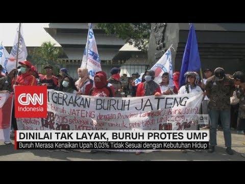 Dinilai tak Layak, Buruh Protes UMP