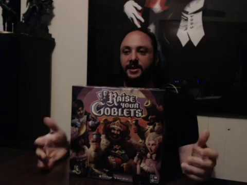 Cthulhu Flash Dance Reviews: Raise Your Goblets Board Game
