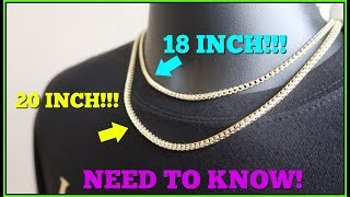 18 Inch VS 20 Inch LENGTHS! What You Need To Know!!!
