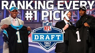 Ranking Every #1 Overall Draft Pick from Worst to First | NFL Highlights