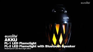 2 Fl Led Bluetooth Flamelight Akku Eurolite With Speaker 4Ac5LjqS3R