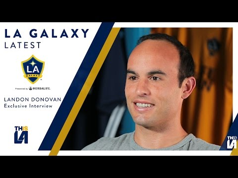 FULL INTERVIEW: Landon Donovan on his return to the LA Galaxy