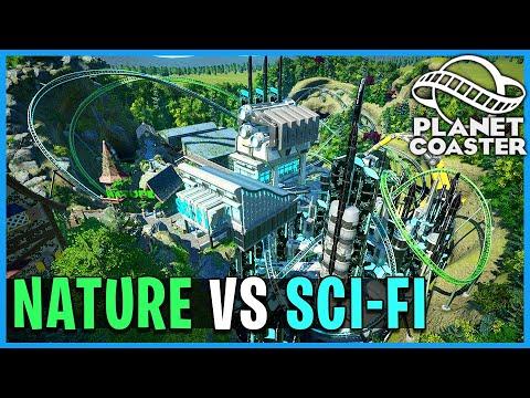 Nature vs Sci-fi! Planet Coaster: Coaster Spotlight 743