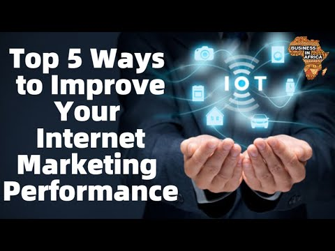 , title : 'Top 5 Ways to Improve Your Internet Marketing Performance'