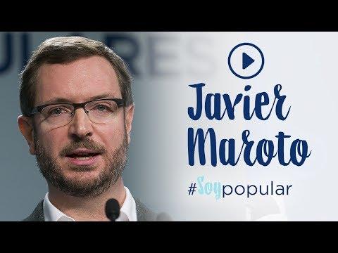 Javier Maroto se une a la campaña #SoyPopular