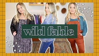 WILD FABLE (TARGET) TRY-ON!