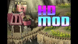 FINAL FANTASY VII HD  MODS  # 3 MIDGAR
