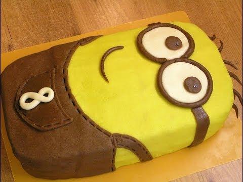 Как собрать торт Миньон