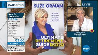 HSN | Suze Orman Financial Solutions for You Anniversary 04.11.2020 - 07 PM
