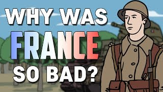Why Was France So Ineffective In WWII? (1940) | Animated History