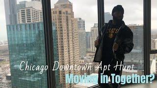 Apartment hunting Downtown Chicago; Moving in together?