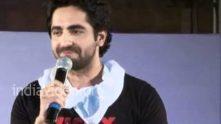 Ayushmann's way of promoting the film Vicky Donor