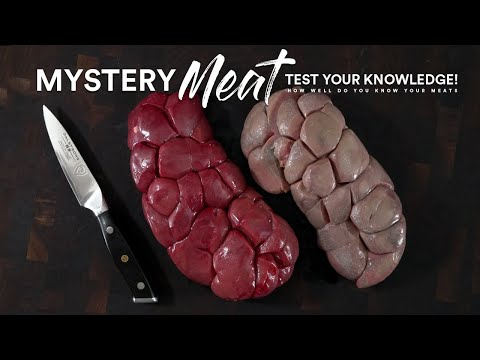 Question: Can you name this MYSTERY MEAT | Test your Knowledge!