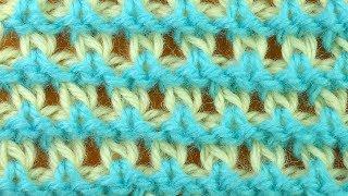ЭКСКЛЮЗИВ Гибридный узор вязания    Урок вязания Crochet pattern 4