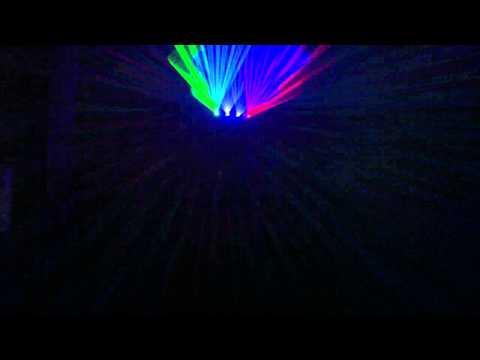 Discoteca Samsara Madrid:Laser Cuadruple de Tm87