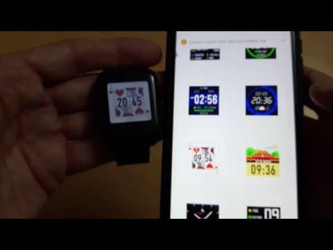 First boot of Smartwatch Amazfit Bip Lite - Banggood