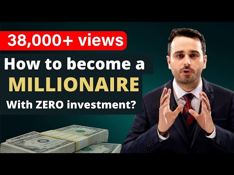 , title : 'How to become a MILLIONAIRE with Zero Investment || The harsh truth