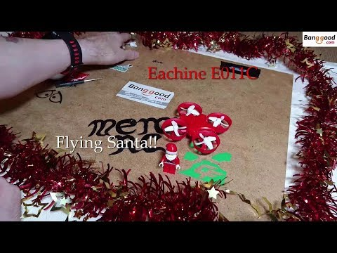 Eachine E011C Flying Santa Claus Unboxed And Fun Flight
