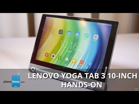 Lenovo YOGA Tab 3 10-inch hands-on