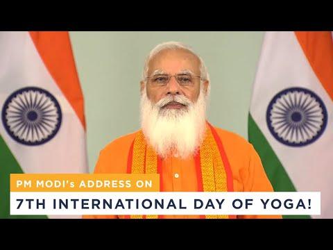PM Modi's speech on 7th International Day of Yoga!