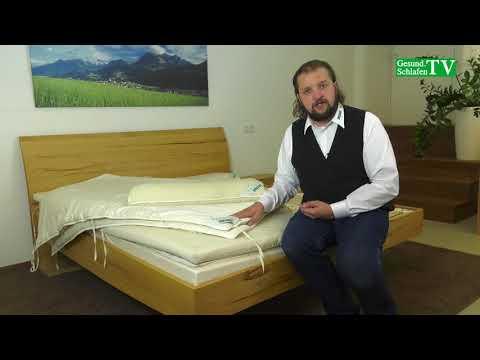 Natürliche SAMINA Zudecken / Decken / Merino-Schafschurwolle
