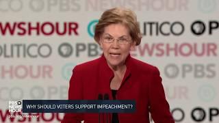 WATCH: Warren calls Trump 'most corrupt president in living history' | Sixth Democratic debate