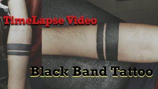 Black Band Tattoo || Arm Band Tattoo