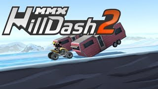 MMX HILL DASH 2 Part #7 SuperCar / Quad Gameplay Android / iOS  / Car Racing Game