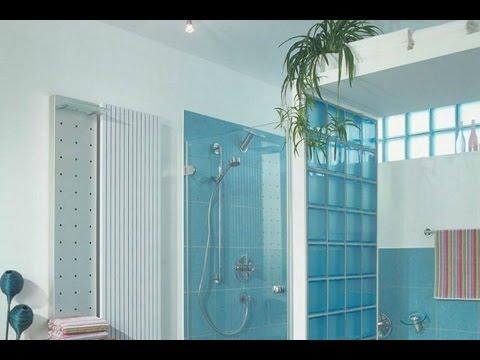 Стекло в интерьере квартиры и стеклянные блоки в дизайне интерьера