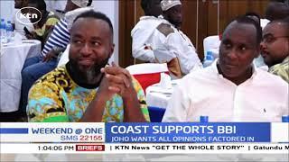 GOVERNOR JOHO: Coast region is fully behind BBI report