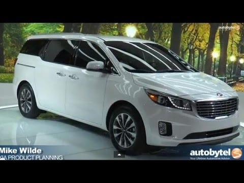 An Overview of the 2015 Kia Sedona at the 2014 New York Auto Show *Video*