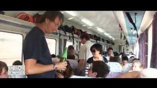 preview picture of video 'Chine, Voyage en train de Luoyang à Xi'an'