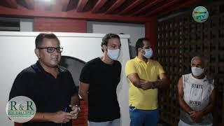 Concursados de Prado que foram expulsos dos seus postos de trabalho pelo atual prefeito se reúnem com o deputado Uldurico Jr.