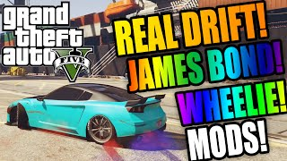 Real Drift, Wheelie, James Bond, 4x4 Handling Mod & Super BMX