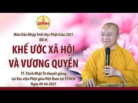 Khế ước xã hội và vương quyền l Dẫn nhập triết học Phật giáo