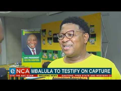 Fikile Mbalula to testify on state capture